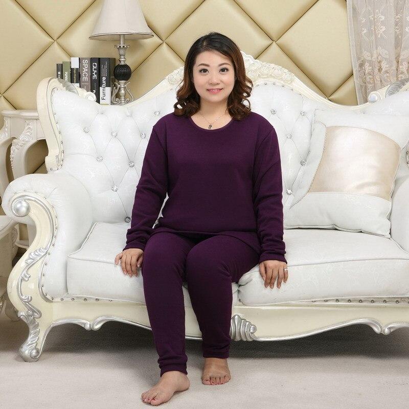women winter pyjamas Plus size XXXXXL Thicken keep warm red pajamas sets women pijama verano mujer large size 4xl 130KG