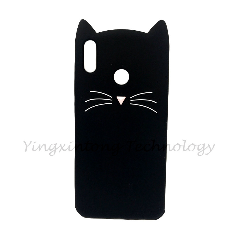 Image 2 - Soft Silicone Phone Case For Huawei P Smart 2019 Case Cute 3D Stitch Cat Unicorn Back Cover For Honor 10 Lite Luxury Funda Coque-in Fitted Cases from Cellphones & Telecommunications