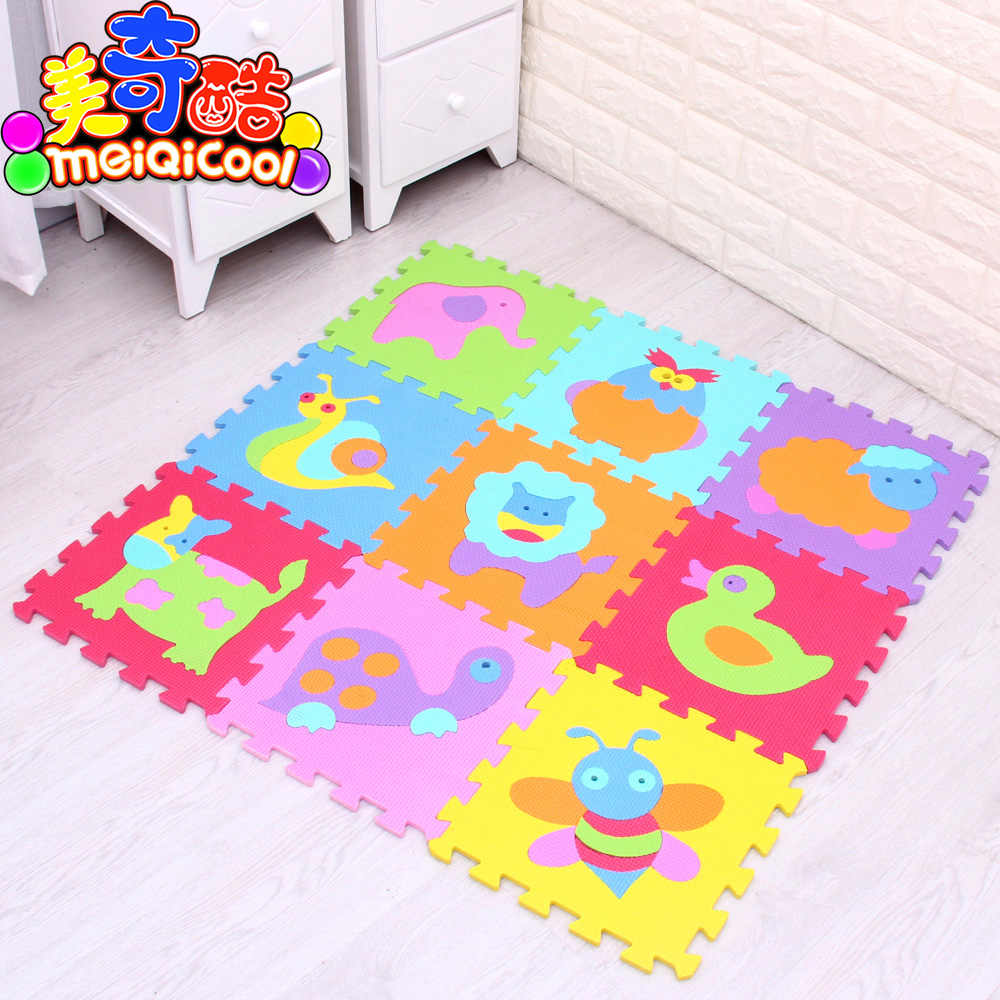 Rugs Baby Playmat Puzzle Number Letter