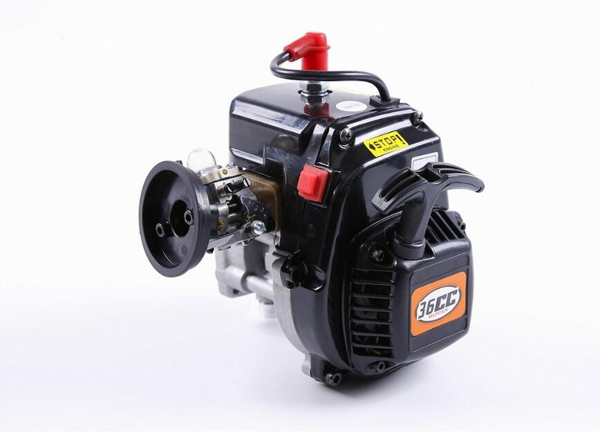 1/5 Rovan rc car spare parts engine parts 36CC 4 bolts Engine with Walbro1107 carb. and NGK spark plug 81020