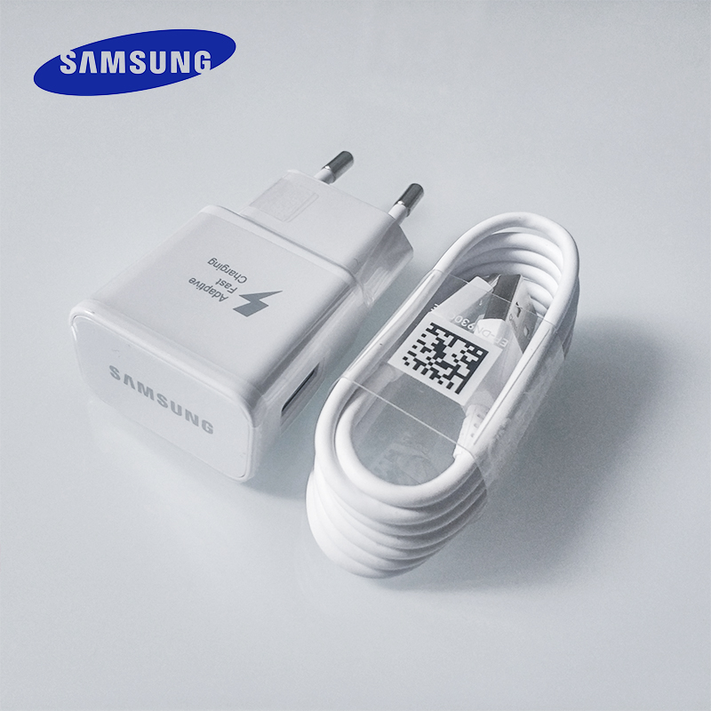 Samsung C-Cable Usb-Power-Adapter Fast-Charger A30 Note 8 A60 S9 Plus Quick Galaxy S10