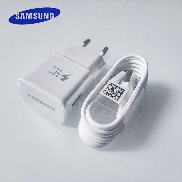 סמסונג מהיר מטען USB כוח מתאם מהיר תשלום מהיר 1.2 M סוג C כבל לגלקסי S10 S8 S9 בתוספת a3 A5 A7 2017 הערה 8 9