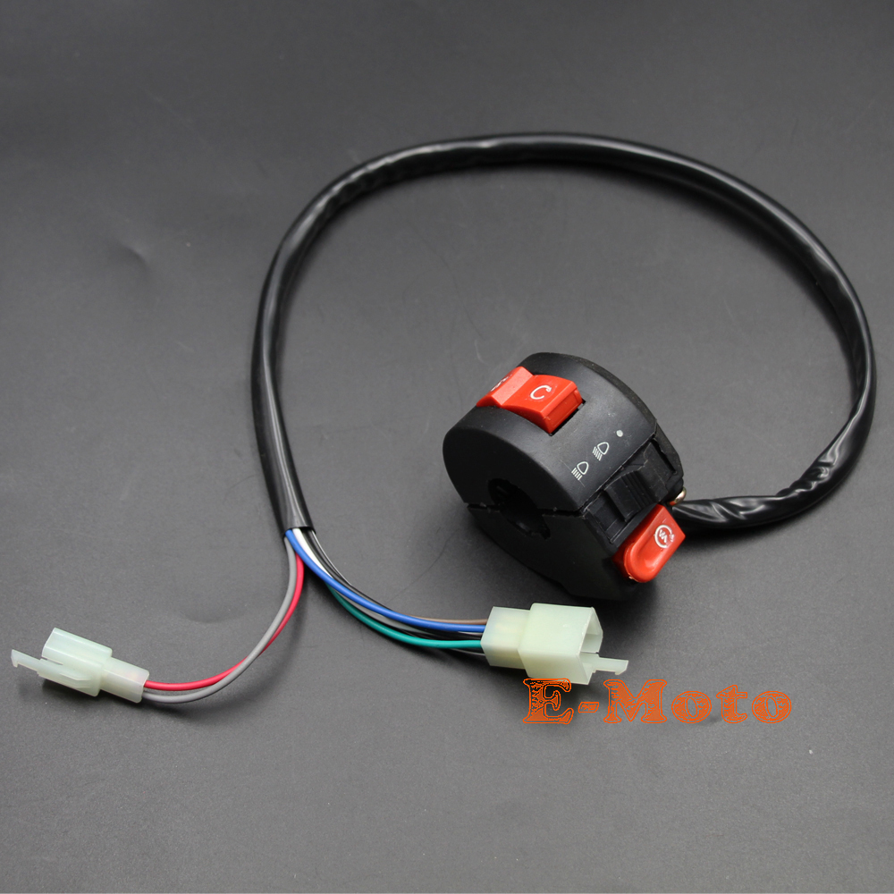 Full Electrics Wiring Harness Switch 50cc 70cc 90cc 110cc 125cc Atv Quad Bike Buggy Go Kart New E Moto In Motorbike Ingition From Automobiles