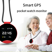 S9 Smart GPS Positioning Pocket Watch One Key Two Way Emergency Calling SOS Waterproof Sweatproof