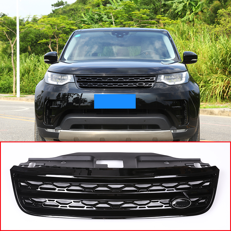1994 Land Rover Discovery Exterior: Gloss Black Main Body Kit Front Grille Replace For Land