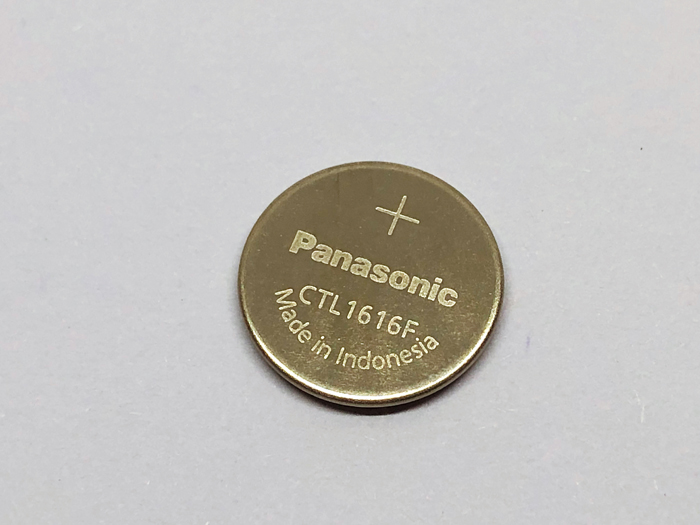 New Original Panasonic Solar CTL1616 CTL1616F Substituição Relógio Bateria Recarregável Baterias Botão CTL 1616