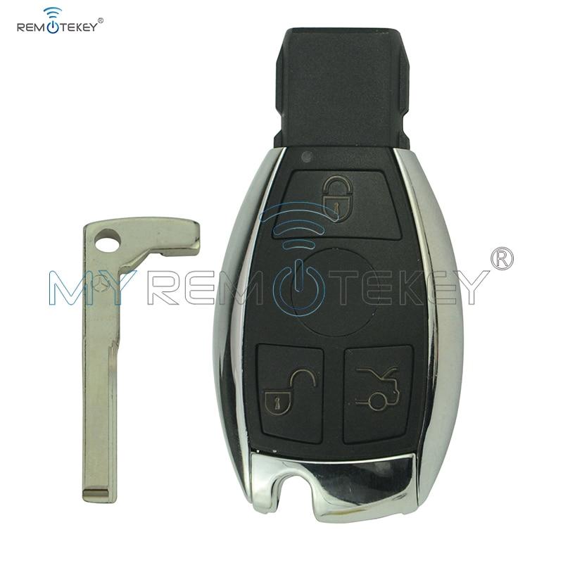 Smart key 3 button BGA E class C class Sl class CL class 434Mhz for Mercedes remtekey