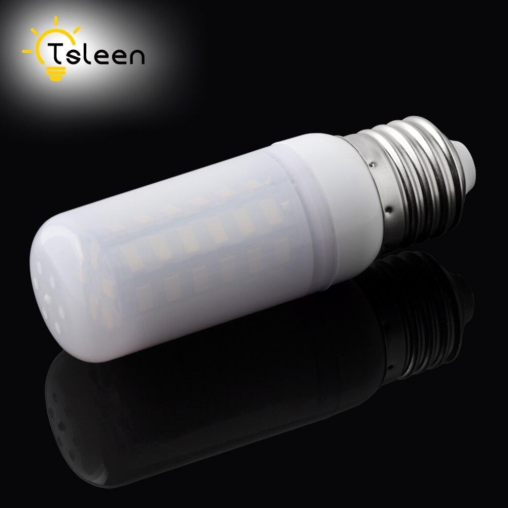 TSLEEN Free Shipping! 10PCS Bombillas LED Bulb E27 E14 SMD5730 G9 LED Lamp 36 48 56 69 72leds 220V Lampada LED Light Chandelier