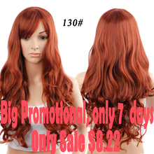 "28"" Long Black Red Wigs For Black Women Cheap Synthetic Wigs For Black Womne Black Woman Wigs Long Cospaly Bang Wig Synthetic"