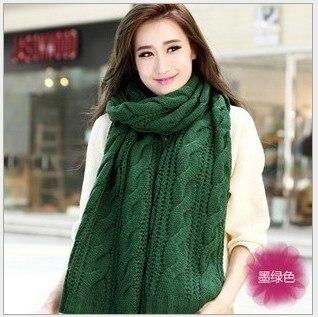 2016 зимний шарф женский вязаный Бесконечность Шарфы Вязаный теплый длинный шарф bufandas cuellos Лидер продаж