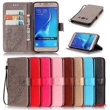 Кожаный бумажник Стенд флип чехол для телефона Samsung Galaxy Glaxy J1 J3 J5 J7 2016 J120 J310 J510 J710 телефон Сумки