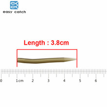 Easy Catch 20pcs Carp Fishing Anti Tangle Sleeves Rubber Carp Rigs Anti Tangle Sleeve Swivels Connect Carp Fishing Accessories