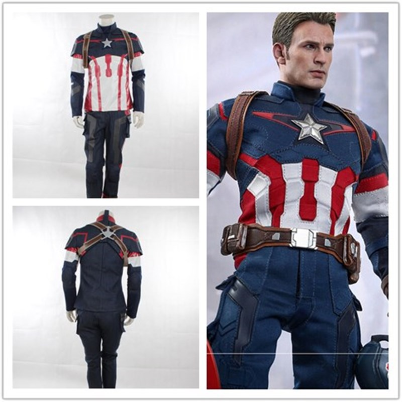 Avenger Age of Ultron Captain America Costume Costume Soldier Winter - Kostumet