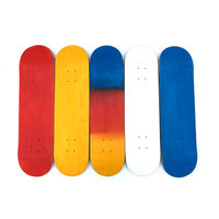 Four Wheel Street Long Skate Board Double Rocker Skateboard With 6 Colors For Adult Children
