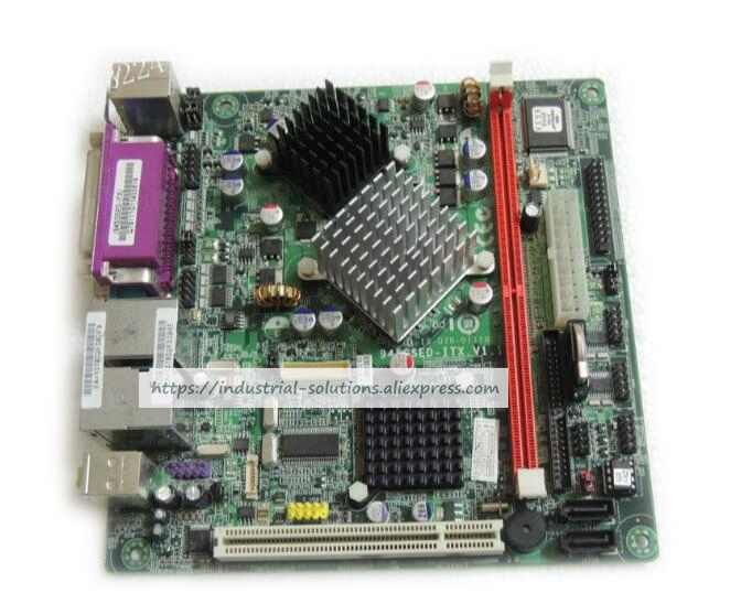Motherboard for ATOMN270 945GSED-ITX POS motherboard motherboard VOD dual port 4COM industrial pos mini itx motherboard atom n450 1 8g dual core four threads pos motherboard