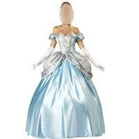 Carnival Công Chúa fancy outfit với petticoat costume, Công Chúa Đảng Biểu Diễn Ăn Mặc Cô Bé Lọ Lem Trang Phục w1217