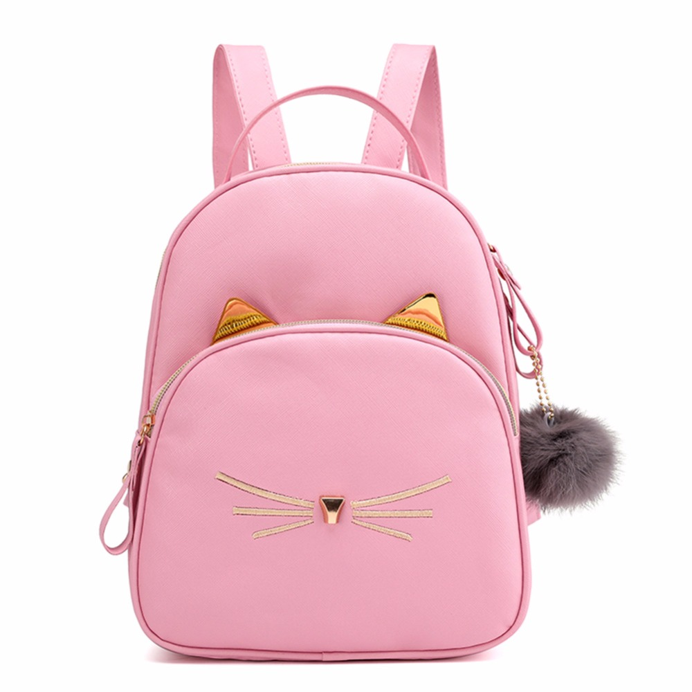 cat backpack for school