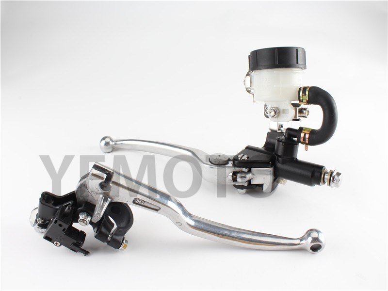 7/8'' Universal  Motorcycle Handlebar Hydraulic Brake Master Cylinder Clutch Lever For Aprilia RS125 RS250 00-04 RSV1000R 04-10 1 piece left or right 7 8 handlebar motorcycle hydraulic brake master cylinder clutch lever