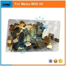 1 шт. новое для Meizu M3S meilan 3 s Мини Главная Кнопка шлейф отпечатков пальцев Touch ID Сенсор обратно ключ части, vgs версия