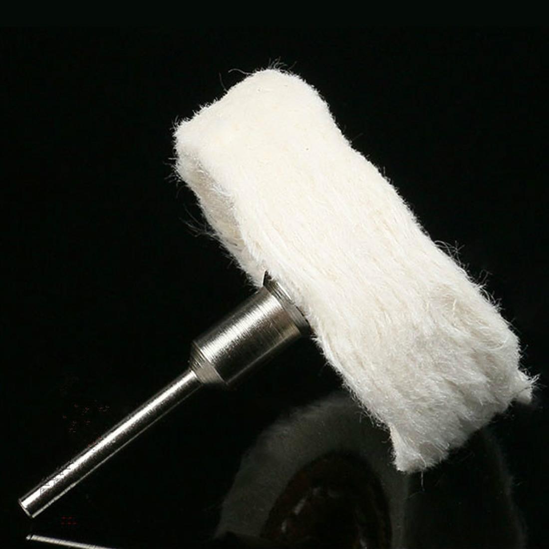 Grinding Head T Style Polish Buffing Wheel Cloth Dremel Wheel Grinder Brush For Rotary Abrasive Tools Dremel Accessories Shank