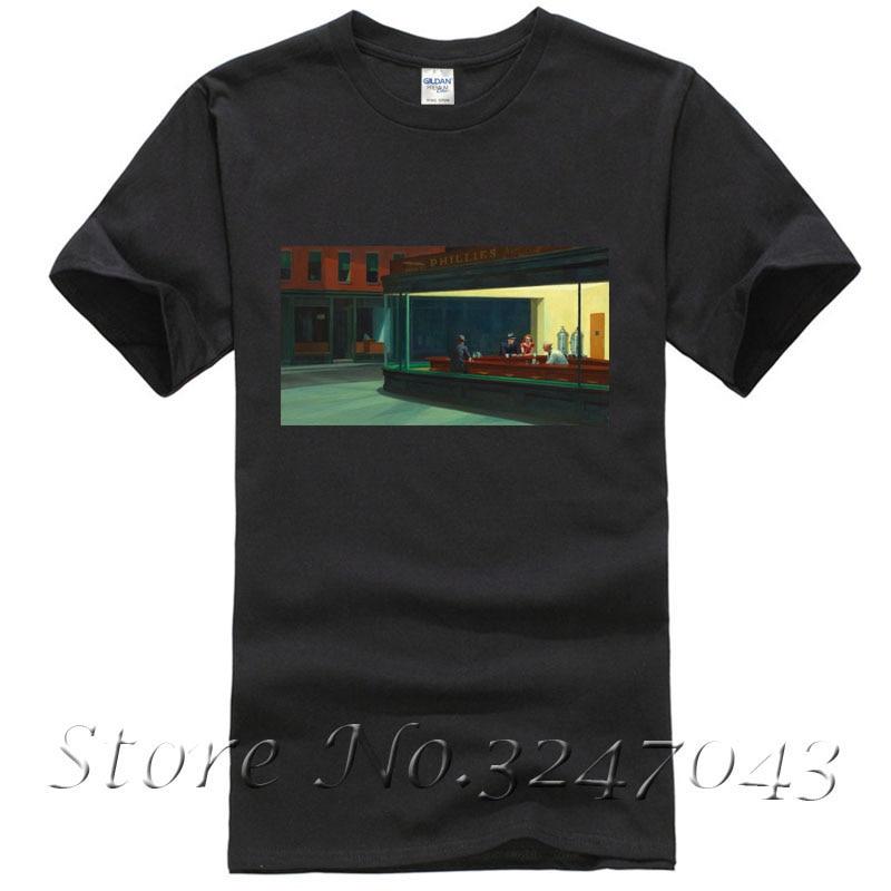 Nighthawks Art Institute Of Chicago Chica T Shirt