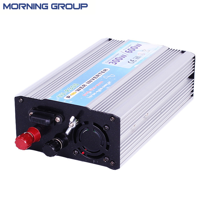 цена на P300 300W Off Grid DC To AC Pure Sine Wave car power inverter 5V USB port