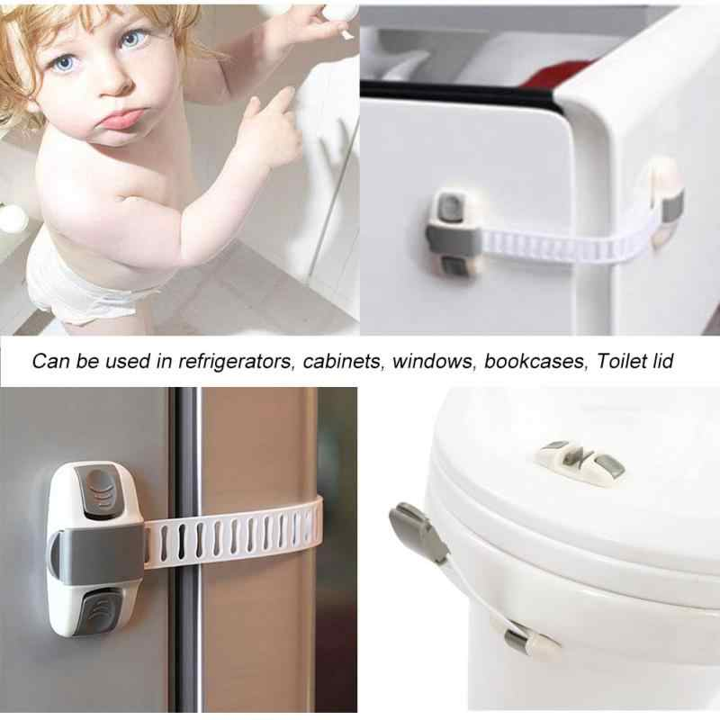Children Multifunctional Drawer Cabinet Cupboard Fridge Door Safety Lock WST