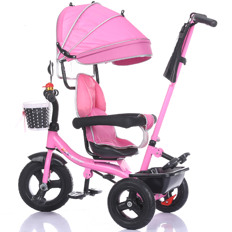 цена Children's tricycle baby bicycle 2-6 years old large bicycle child bicycle baby walker