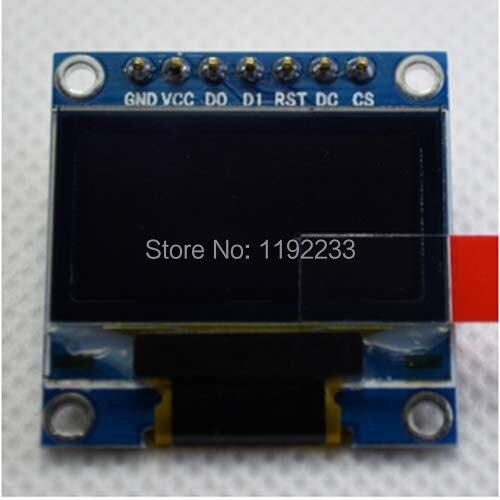 2pcs/lot 0.96 Inch OLED Display Module 12864 For Arduino IIC/SPI Display Circuit