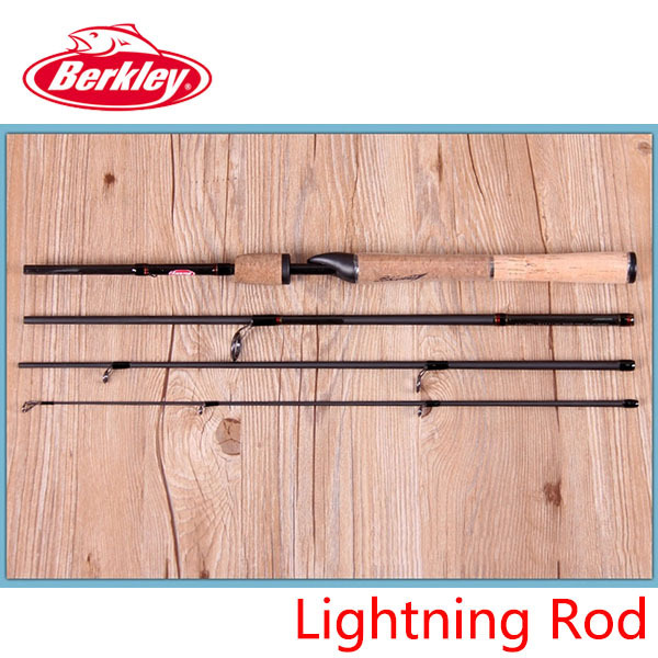aliexpress : buy berkley brand lightning rod 4 sections 1.98m, Fishing Reels