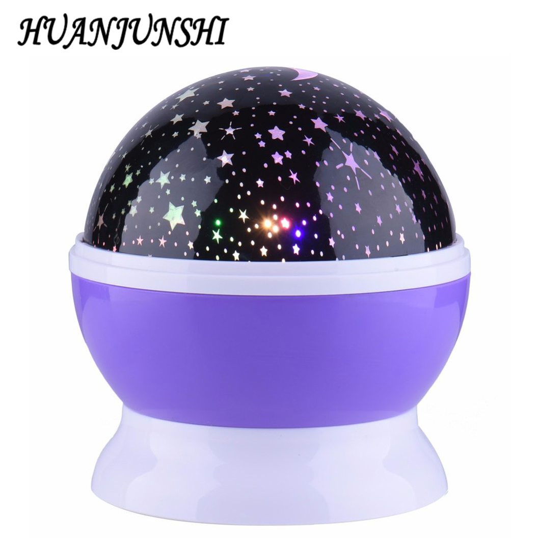 sun star lighting lamp led 360 degree romantic room rotating cosmos star projector night light. Black Bedroom Furniture Sets. Home Design Ideas