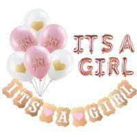 Baby Shower Jongen Meisje Opknoping Decoratie Het EEN Jongen Meisje Oh Baby Ballon Geslacht Onthullen Kids Verjaardagsfeestje Decoratie levert 75 5