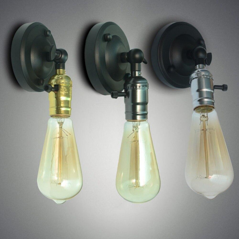 Винтаж LED Lamparas настенный светильник Спальня Свет Кабинета Lamparas аппликация украшения дома Обеденная Ресторан бра свет