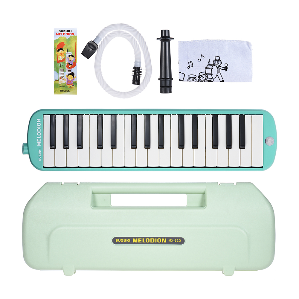 SUZUKI MX-32D Melodion Melodica Pianica In Harmonica 32 Piano Keys Musical Education Instrument Christmas Gift For Children Play