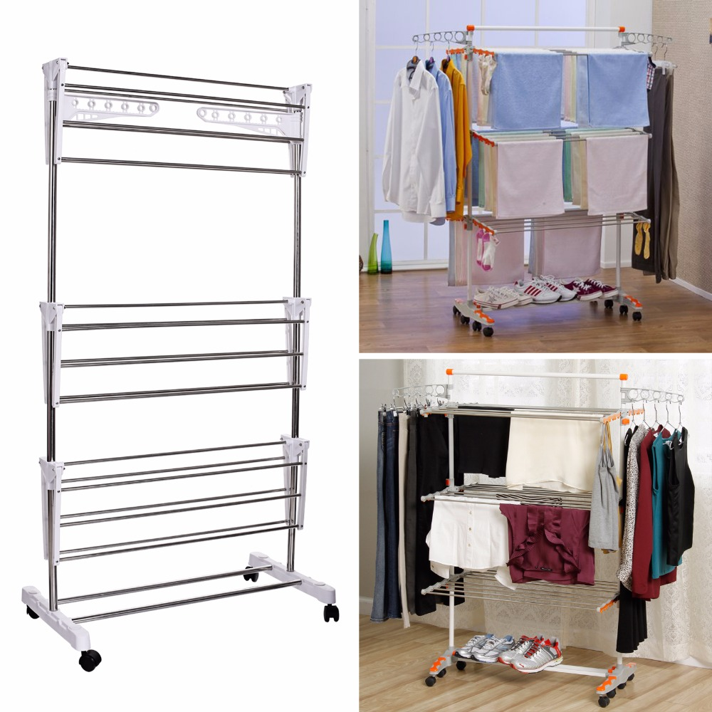 laundry furniture. Homdox Foldable Laundry Clothes Drying Rack Home Household Cloth Shoes Hanger Furniture N20*-in Racks \u0026 Nets From Garden On
