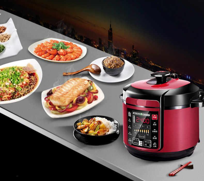 Pressure Cooker Listrik Pressure Cooker Dual Kantong Empedu 6L Rumah Pintar Listrik Rice Cooker.
