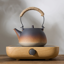 Estufa de cerámica eléctrica de PC Vintage de 220 v, calentadores de cerámica para el hogar, tetera con mango, accesorios para tetera, tetera, tetera de leche