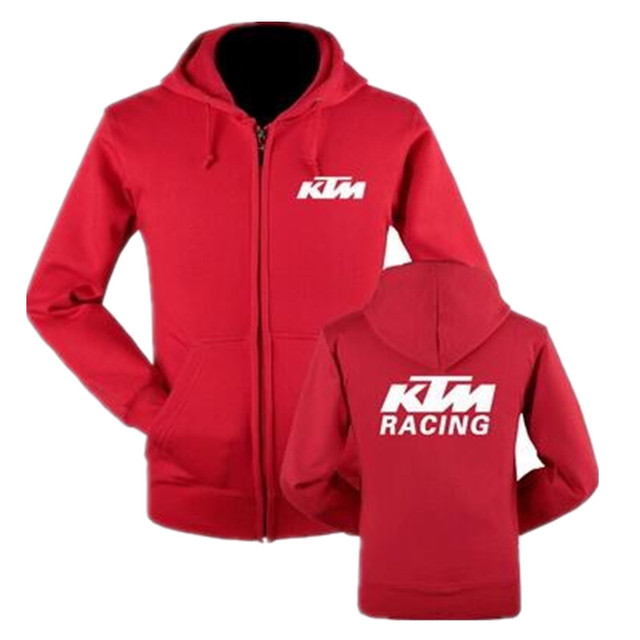 5f55d17d6 € 28.08 |Automne et hiver KTM moto laine pull à capuche moto moto veste  Kawasaki Sweat À Capuche sports de plein air la fièvre 2017RED dans ...