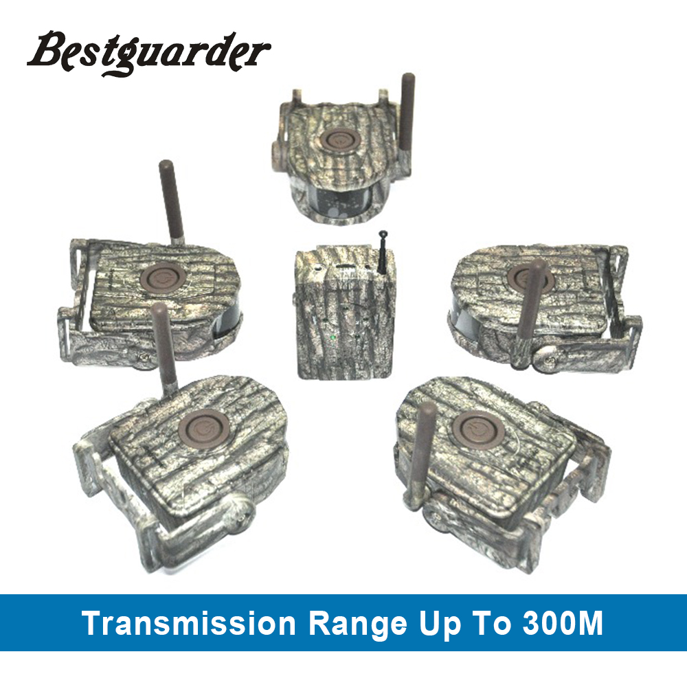 Bestguarder 300M Range Hunting Detector Alarm 360 Degree Forest Trap Wildlife Alarm Hunting Surveillance Detector Game Alarm