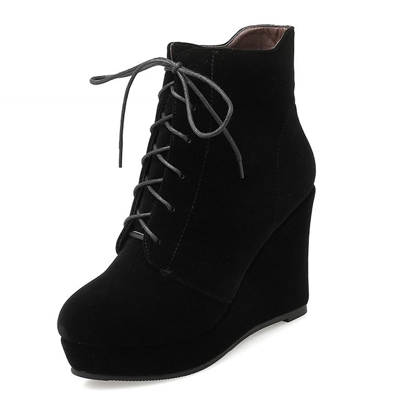 Popular Wedge Ankle Boots-Buy Cheap Wedge Ankle Boots lots from ...