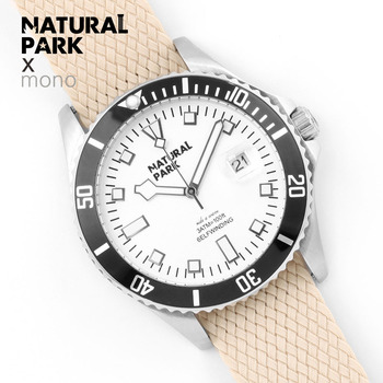 NATURAL PARK Mens Watches Brand Luxury Classic Watch Men 2018 Nylon Strap Fashion Clock Men 3ATM Waterproof Relogio Masculino