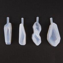 Crystal Silicone Mold Resin DIY Stars Mold Pendant Making Si