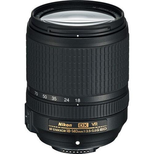 Nikon AF S DX NIKKOR 18 140mm f 3 5 5 6G ED font b VR