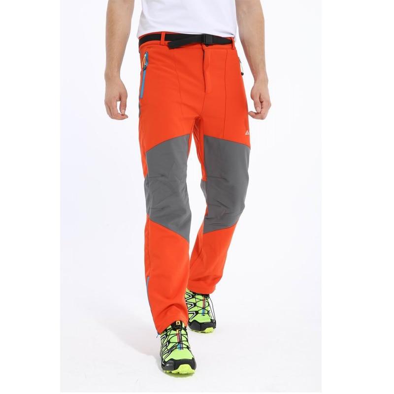 Haute qualité pantalons de randonnée en plein air hommes coupe-vent thermique Softshell pantalons hommes imperméable Trekking escalade Camping pantalon