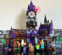 BELA 10432 Compatible Scooby Doo Figures Mystery Mansion 75904 Building Bricks Educational Toys For Children Kid