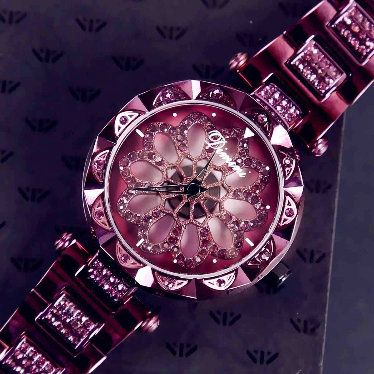 Luxury Reloj Mujer Hombre Women Flower Rosefield Watch Quartz Wristwatches Elegant Relogio Feminino Party Dress Clock Dropship