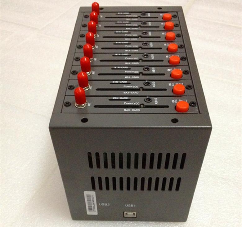 8 Channel WAVECOM GSM GPRS MODEM pool Q2403 usb modem for sms broadcaster