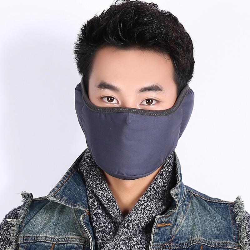 10pcs/Pack Wholesale Korean Mouth Mask Face Shields Maskers Cotton Black Mouth Mask Kpop Maske Training Pollution Mask