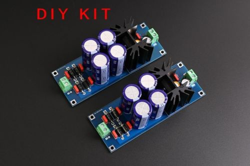 LT1083CP Linear Adjustable Voltage Buck HIFI Regulated DC Power Supply Kit DIY