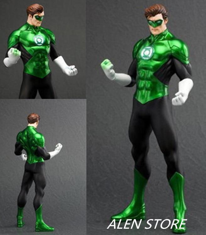 ALEN Green Lantern Figure Justice League ARTFX+ Statue X MEN Weapon X Iron Man Alan Scott Action Figure Model Collection Toy batman figure justice league artfx statue x men weapon x iron man bruce wayne action figure model collection toy